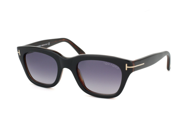 Tom Ford Snowdon FT 0237 / S 05B vue en perpective
