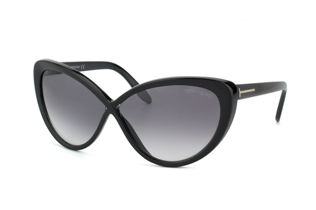 Tom Ford Madison FT 0253 / S 01B vista en perspectiva