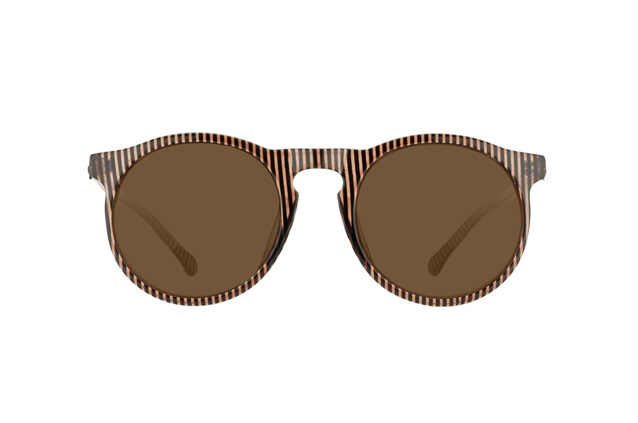 BOJANGLES Sonnenbrille brown stripe @