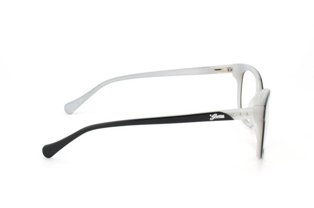 Guess Eyeglass Frames 2293 : Guess GU 2293 BKWHT