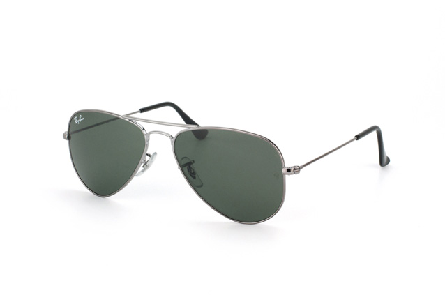 Ray-Ban Junior Aviator Small Metal RB 3044 W3100 Perspektivenansicht