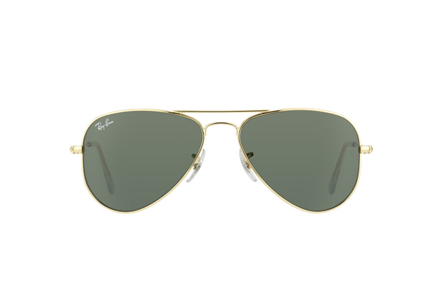 ... Ray-Ban Junior Aviator Small RB 3044 L0207 vue en perpective fc3e2e71b1a3