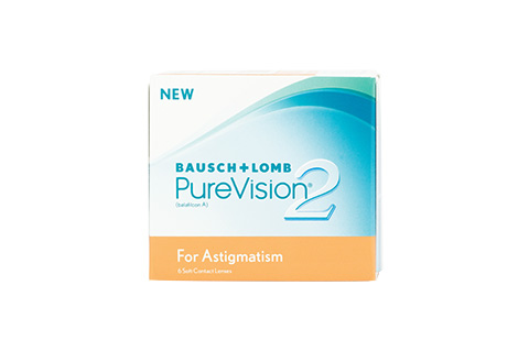 Purevision 2 Hd For Astigmatism - 6/pkt