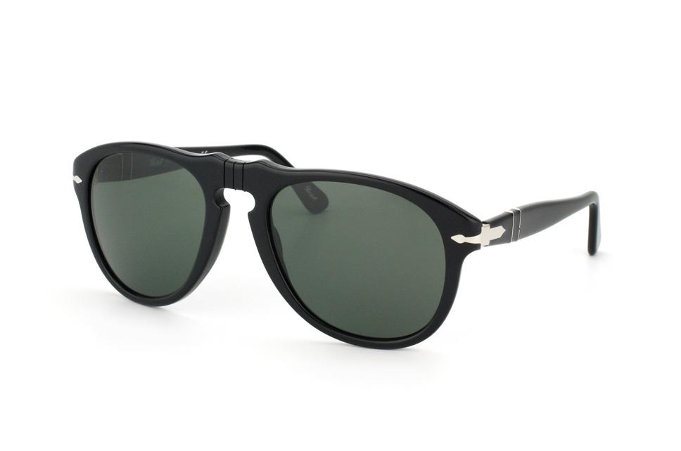 PO 649 95/31, Aviator Sonnenbrillen, Schwarz