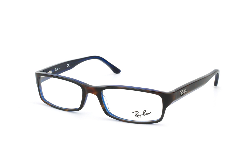 ray ban blau orange