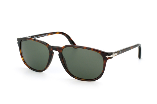 PERSOL Persol Sonnenbrille » PO3199S«, braun, 24/31 - braun/grün