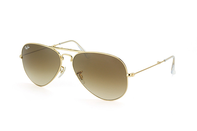 Ray-Ban Folding Aviator RB 3479 001/51 perspektivvisning