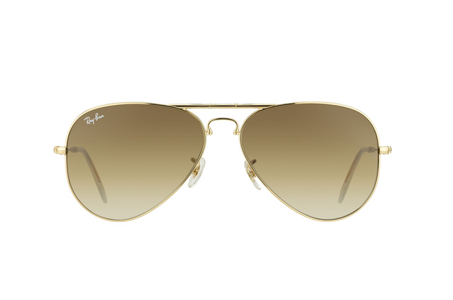 Ray-Ban Folding Aviator RB 3479 001/51 vue en perpective