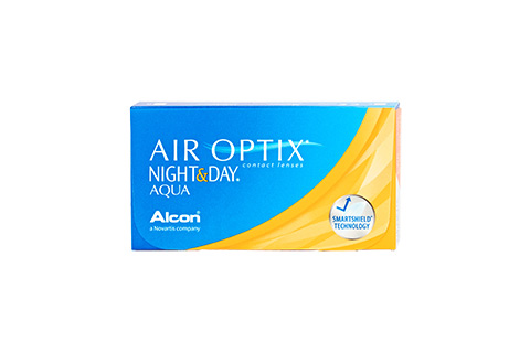 Air Optix Night & Day Aqua - 6/pkt