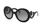 Prada PR 27NS 1AB3M1 Black / Gradient grey perspective view thumbnail