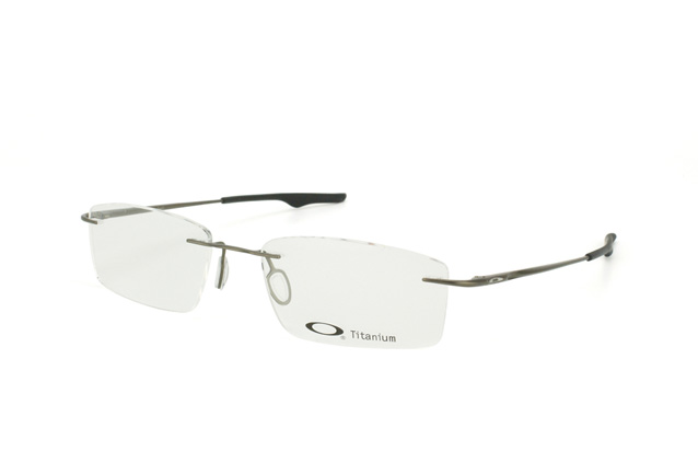 oakley rimless prescription glasses mbxb  Oakley Keel OX 3122 07 perspective view