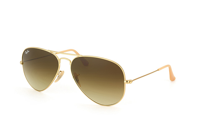 Ray-Ban Aviator large RB 3025 112/85 perspective view