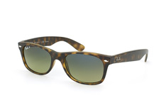 Ray-Ban New Wayfarer RB 2132 894/76 polarized, Square Sonnenbrillen, Braun