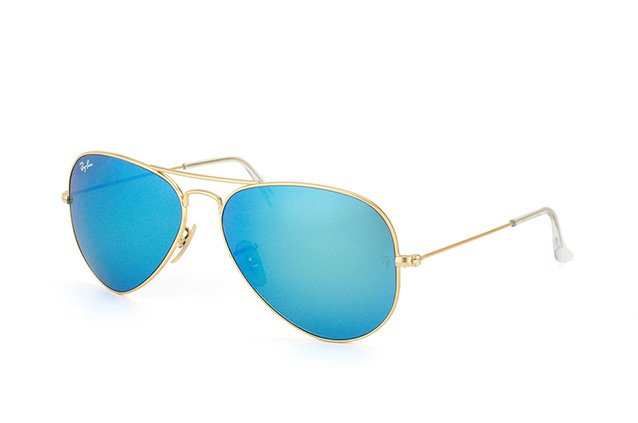 Ray-Ban Aviator large RB 3025 112/17 vue en perpective