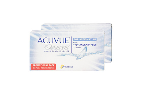 Acuvue Acuvue Oasys  for Asti (12 lenses per box) front view