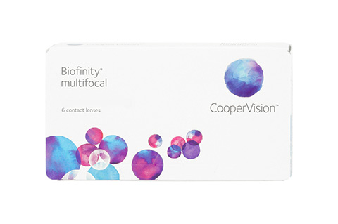 Biofinity Biofinity Multifocal vista frontal