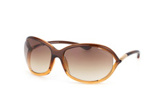 Tom Ford Jennifer FT 0008 / S 50F, Butterfly Sonnenbrillen, Braun