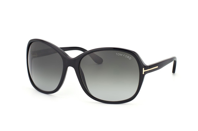 Tom Ford Sheila FT 0186 01B Perspektivenansicht