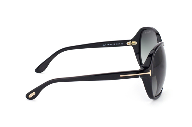 Tom Ford Sheila FT 0186 01B vista en perspectiva
