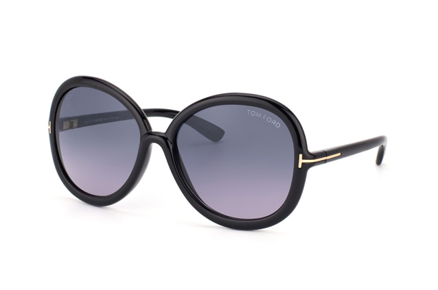 Tom Ford Candice FT 0276 / S 01B vue en perpective