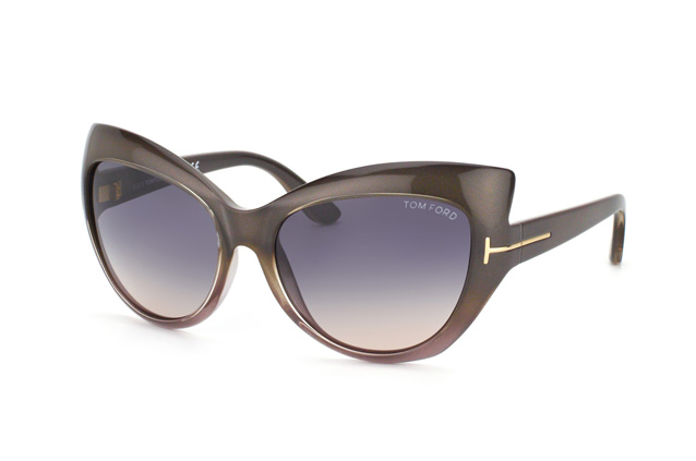 Tom Ford Bardot FT 0284 / S 20B vista en perspectiva