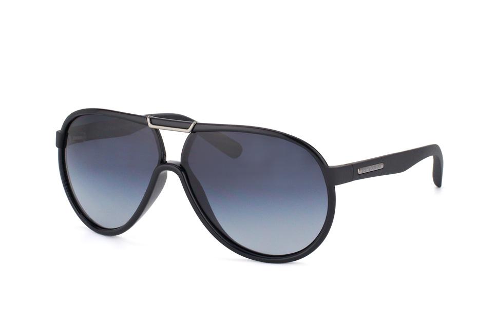 DG 6078 26418G, Aviator Sonnenbrillen, Schwarz