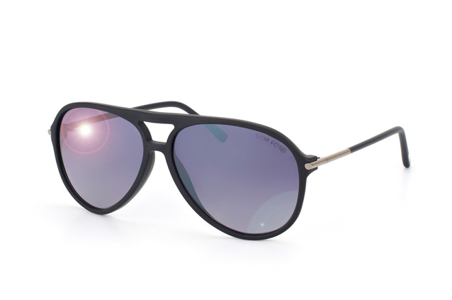 Tom Ford FT 0254 / S 01B vue en perpective