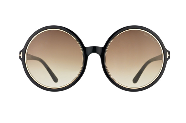 Tom Ford Carrie FT 0268 / S 01F vista en perspectiva