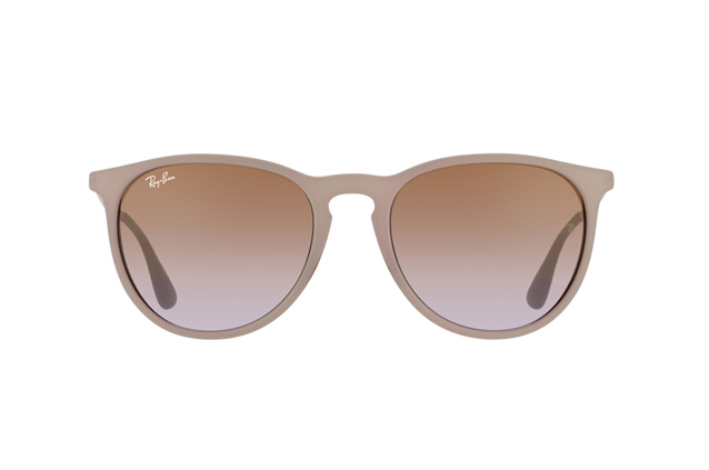 ray ban erika dark rubber sand