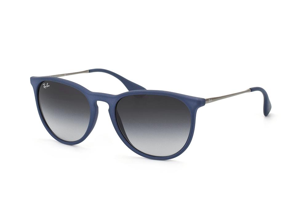 ray-ban -  Erika RB 4171 6002/8G, Quadratische Sonnenbrille, Unisex, in Sehstärke erhältlich