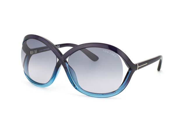 Tom Ford Sandra FT 0297 / S 20B vista en perspectiva