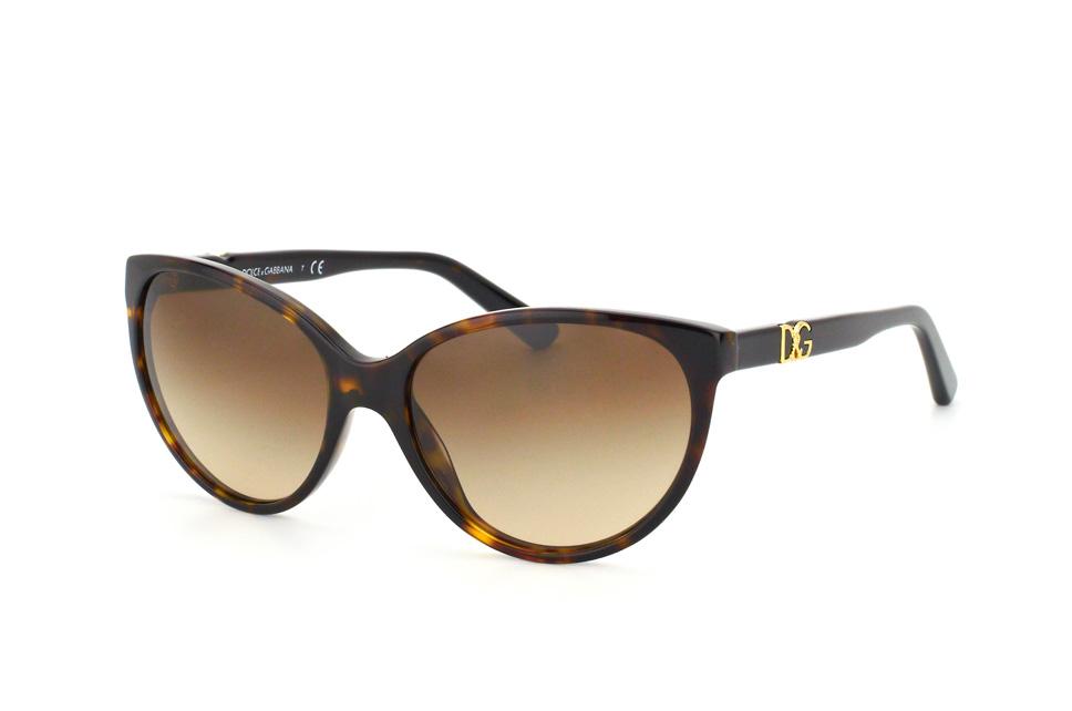 DOLCE & GABBANA Dolce & Gabbana Damen Sonnenbrille » DG2194«, goldfarben, 129713 - gold/braun