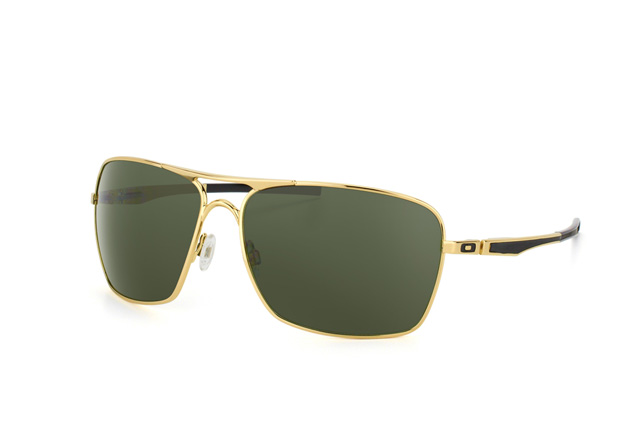 oakley plaintiff polished gold aviator sunglasses