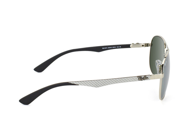 Ray-Ban Carbon Fibre RB 8313 003/40 perspective view