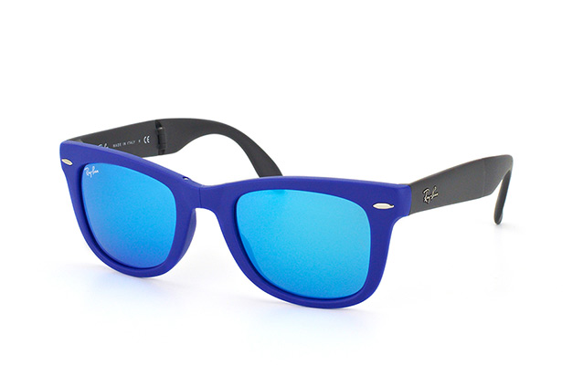 Ray-Ban Fold Wayfarer RB 4105 602017 perspective view