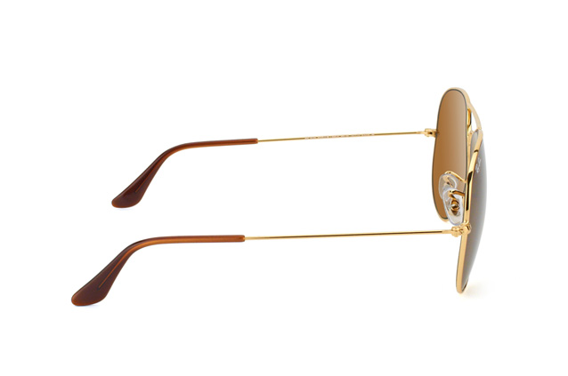 Ray-Ban Aviator RB 3025 001/33 large vista en perspectiva