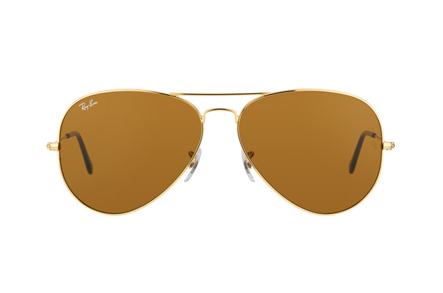 Ray-Ban Aviator RB 3025 001/33 large vue en perpective