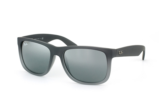 Ray-Ban Justin RB 4165 852/88 small vista en perspectiva