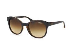 Vogue Eyewear VO 2795S W65613, Butterfly Sonnenbrillen, Dunkelbraun
