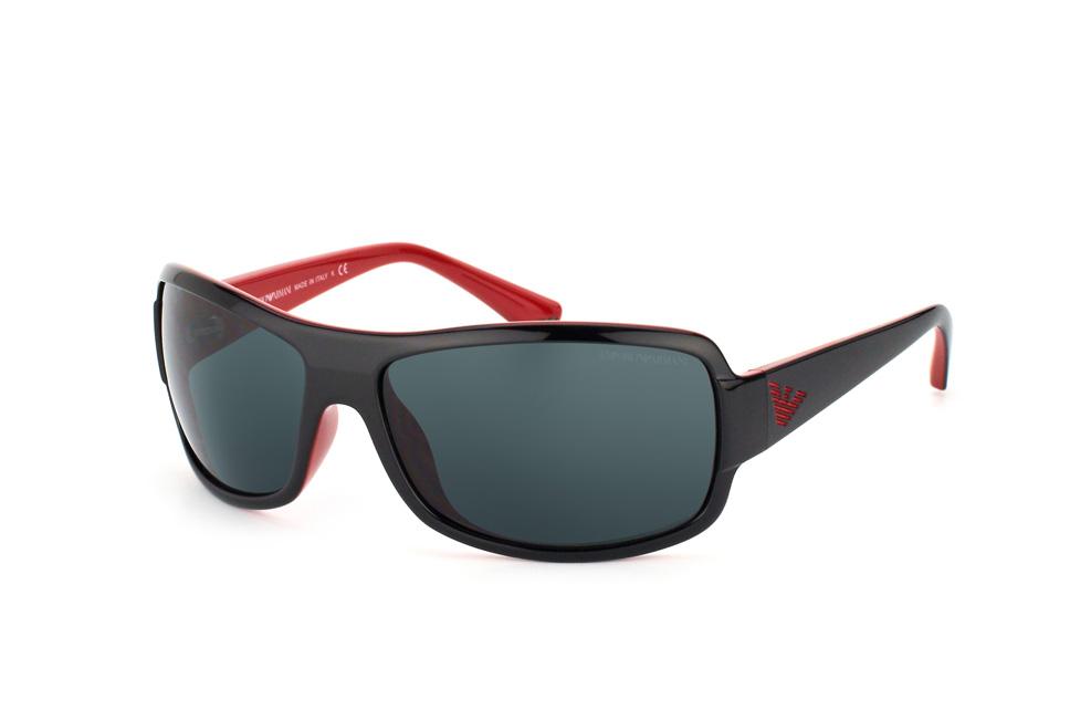 EA 4012 506187, Sporty Sonnenbrillen, Schwarz