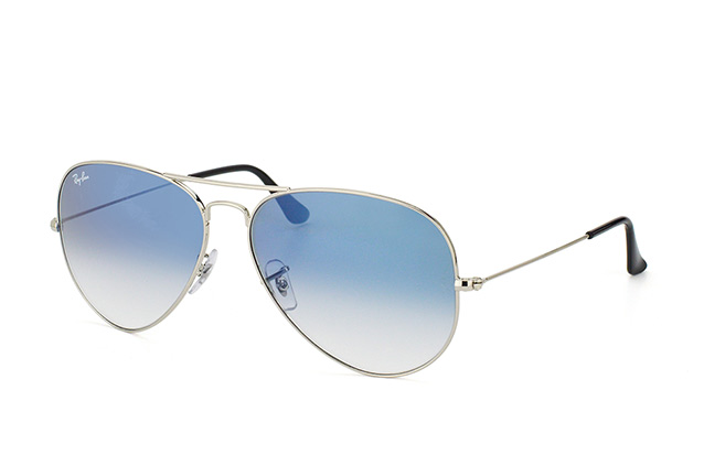 ray ban aviator degrade bleu