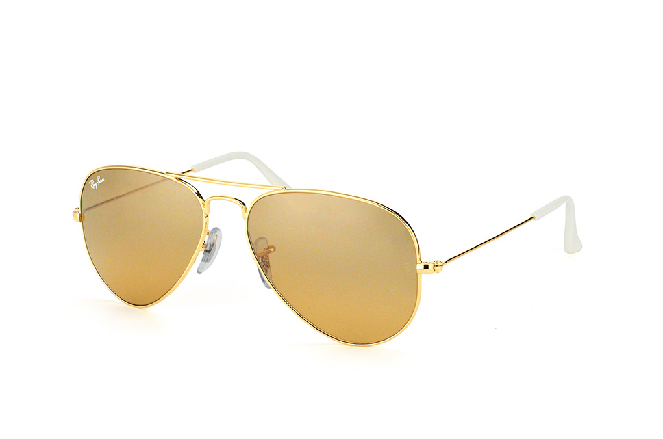 ray-ban -  Aviator RB 3025 001/3K small, Aviator Sonnenbrille, Unisex, in Sehstärke erhältlich
