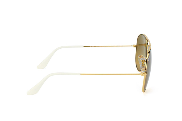 Ray-Ban Aviator RB 3025 001/3K small Perspektivenansicht