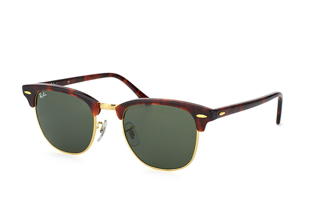 Ray-Ban Clubmaster RB 3016 W0366 large perspective view