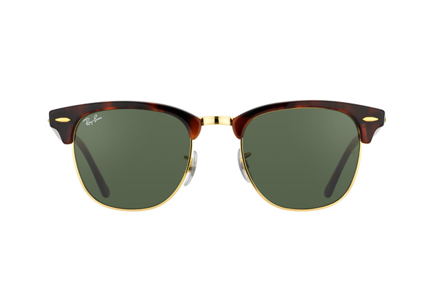 Ray-Ban Clubmaster RB 3016 W0366 large vista en perspectiva