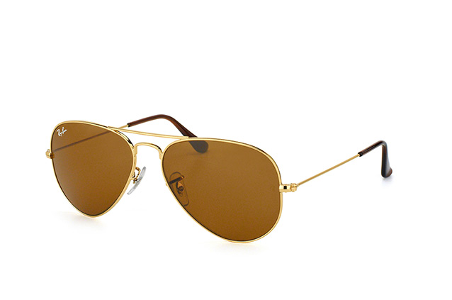 Ray-Ban Aviator RB 3025 001/33 small vista en perspectiva