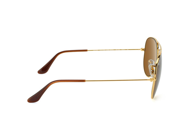 Ray-Ban Aviator RB 3025 001/33 small Perspektivenansicht