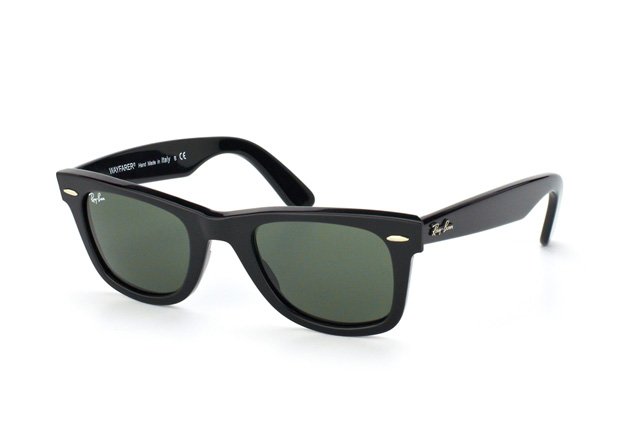 Ray-Ban Original Wayfarer RB 2140 901 small Perspektivenansicht