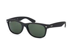 Ray-Ban New Wayfarer RB 2132 622 large, Square Sonnenbrillen, Schwarz