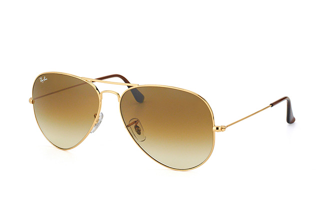 Ray-Ban Aviator RB 3025 001/51 largeMetal RB vista en perspectiva